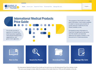 International Medical Products Price Guide